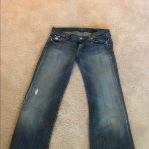 Seven jeans wider leg